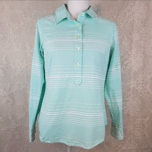 VINEYARD VINES NWOT Mint Striped Button Down